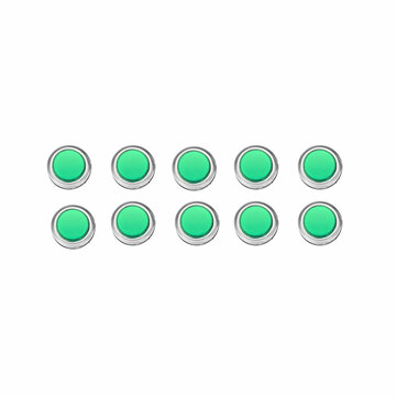 How can I buy 10Pcs 33MM Electroplated Green LED Push Button for Arcade Game Console Controller DIY with Bitcoin