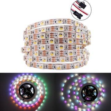 DC5V 1M 5M WS2812B RGBW RGBWW 4 IN 1 Đèn LED 5 chân không chống nước cho trang trí nhà