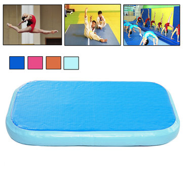 39.3x23.6x3.9inch Airtrack Gymnastics Mat Inflatable GYM Air Track Mat GYM Practice Training Tumbling Mat