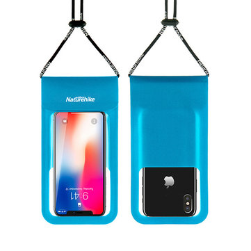 Naturehike Outdoor Swimming Waterproof Phone Bag TPU Lightweight Touch Screen Dry Bag For 4-6 inch