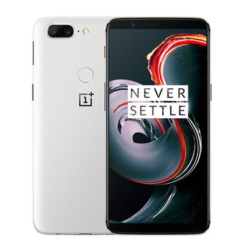 OnePlus 5T White Global Version 6.01 Inch 8GB RAM 128GB ROM Snapdragon 835 Octa Core 4G Smartphone