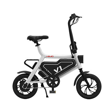 XIAOMI HIMO V1 Foldable Pedelec Electric Bike for Adult/Kid 250W Brushless Motor Cycling Max. Speed 20km/h Load 100kg