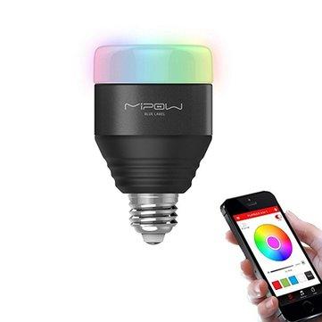 MIPOW E27 LED Bulb 5W RGB Light Smart bluetooth 4.0 Wireless App Control AC100-240V