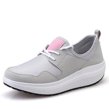 Women sport outdoor rocker sole shoes