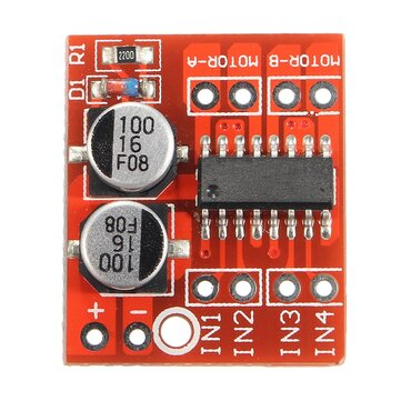 10pcs Dual Channel L298N DC Motor Driver Board PWM Speed Dual H Bridge Stepper Module
