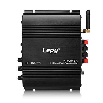 Lepy LP 168 Plus 2.1 चैनल कार एम्पलीफायर 3.55MM ऑडियो वायर्ड सुपर बास HiFi स्टीरियो बास आउटपुट पावर