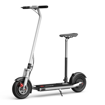 NEXTDRIVE N-7 300W 36V 10.4Ah Foldable Electric Scooter With Saddle For Adults/Kids 26 Km/h Max Speed 18-36 Km Mileage