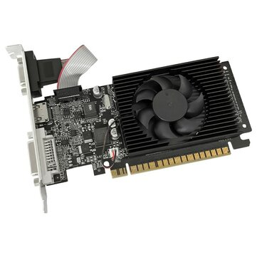 JINGYUE GT730 Graphics Card 2G Independent DDR3 ITX Case Desktop In Home Office Audio for Video