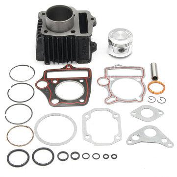 70cc Xi lanh Piston Gasket Nhẫn Bộ động cơ cho ATV Honda ATC70 TRX70 4 bánh