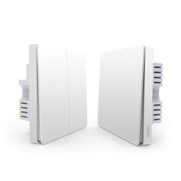 Aqara Neutral Line Type Remote Control Switch Home Light Controller Intelligent Wall Switch From Xiaomi Eco-System