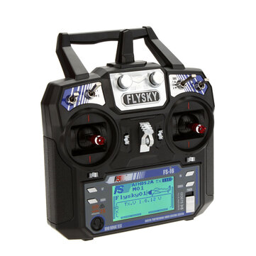FlySky FS-i6 i6 2.4G 6CH AFHDS RC Radio Transmitter Without Receiver for FPV RC Drone