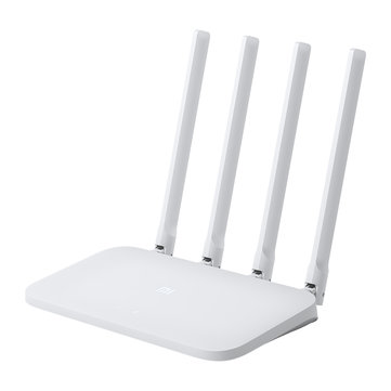 Xiaomi Mi 4C Wireless Router 2.4GHz 300Mbps Empat 5dBi Antena Wireless WIFI Router