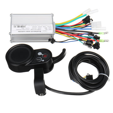 Control unit 24V-48V 250W for Scooter E-Bike Brushless Motor Controller with LCD