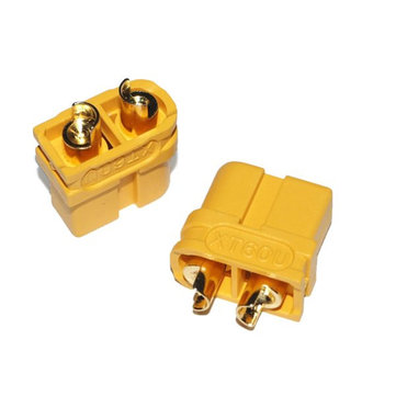 Upgraded Amass XT60U Male Female Bullet Connectors Plugs for Lipo Battery 1 Pairs