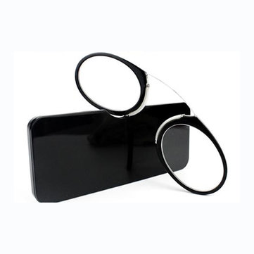 KCASA Burun Hurma Portatif Cüzdan Presbiyotik Hipermetrop Okuma Gözlükler