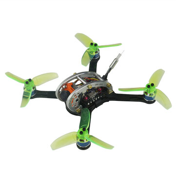 KINGKONG/LDARC FPV EGG V2 136mm RC Racing Drone BNF W/ F3 4in1 12A BLehil_S 25mW/100mW 16CH 600TVL - Compatible Spektrum DSMX/DSM2 Receiver