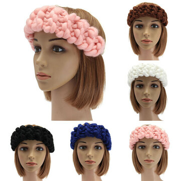 How can I buy 5 Colors vintage handmade knitting hairband, woolen yarn material, comfortable touch. Make you more charming and beautiful, suitable for women lady and girls. Suitable in winter, autumn. with Bitcoin