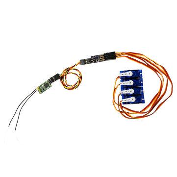 SBUS til PWM Dekoder til FrSky R-XSR XM + XSR R9MM Receiver