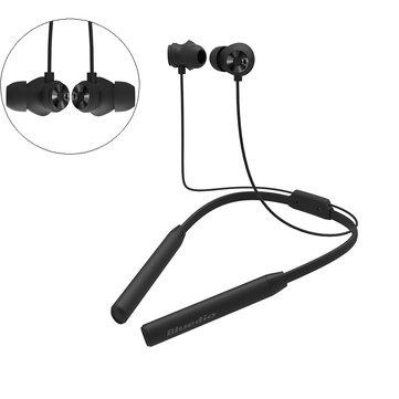 Bluedio TN2 HiFi Active Khử tiếng ồn Bluetooth Tai nghe Vòng đeo cổ Tai nghe Dual Mic