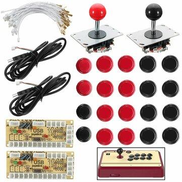 Joystick Push Button Zero Delay Giochi Arcade Kit DIY per MAME