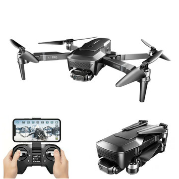 VISUO K1 PRO GPS 5G WiFi FPV with 4K Servo HD Camera 2-Axis Gimbal 1.6KM Control Range Optical Flow Positioning Brushless Foldable RC Drone Quadcopter RTF