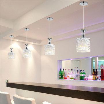 quality design e0c4b bdd09 E27 Modern Crystal Iron LED Ceiling Light Fixtures Chandelier Pendant Lamp  for Dining Room Kitchen