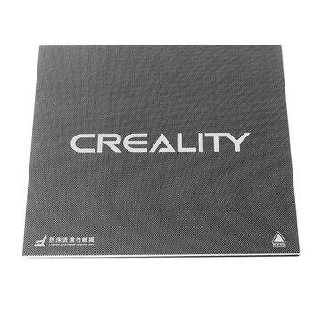 Creality 3D® Ultrabase 235 * 235 * 3mm Cam Kap Platformu Isıtmalı Yatak Ender-3 MK2 MK3 için Yapı Yüzey Sıcak yatak 3D Yazıcı Parçası