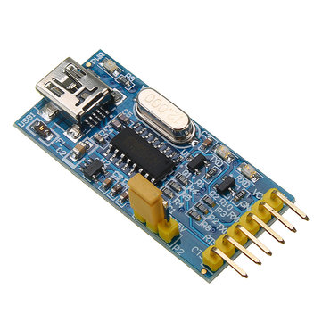 USB to TTL Serial Port Module CH340 Adapter Supports 3.3V/5V System With Control Signal