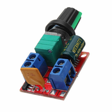 DC 4.5V To DC 35V 5A 90W Mini DC Motor PWM Speed Controller Module Speed Regulator Adjustable Electronic Switch Module Board