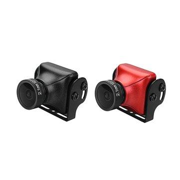 JJA-CM1200 1/3 CMOS 1200TVL Mini FPV Camera 2.1mm Lens PAL/NTSC Black/Red For RC Drone