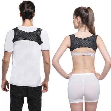 Men Women Stretchable Posture Corrector Provide Clavicle Shoulder Support Improve Thoracic Kyphosis