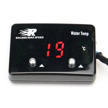 Mini Red LED Hiển thị kỹ thuật số Nhiệt độ nước Nhiệt kế đo nhiệt độ cảm biến tự động
