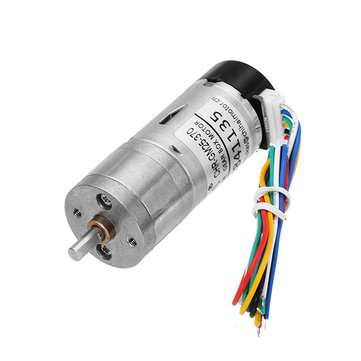 $9.99 for CHIHAI MOTOR DC12V 350rpm Encoder Motor DC Gear Motor with Cover