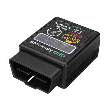 iMars ELM327 Automóvel OBD2 CAN BUS Ferramenta Scanner com Função Bluetooth