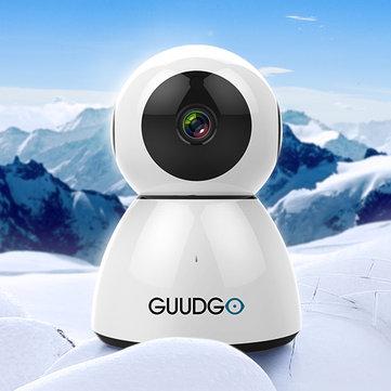 GUUDGO GD-SC03 Kardan Adam 1080P Bulut WIFI IP Kamera Pan & Tilt IR-Cut Gece Görüş İki Yönlü Sesli Mod Algılama Alarmı Kamera Monitör Amazon-AWS'yi Destekleyin [Amazon Web Servisleri] Bulut Depolama Hizmeti