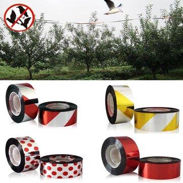 80m Polyester Film Bird Scare Tape Garden Orchard Birds Repellent Ribbon