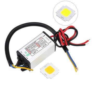 AC100-265V a DC20-40V 10W Impermeable DIY Corriente constante de la fuente de alimentación del conductor con la viruta de LED SMD