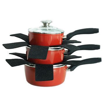 8Pcs Pot Pan Separator Protector Preserves Non Stick Cooking Surface Placemat 32/38/42cm