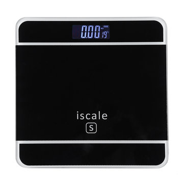 LCD Cristal templado digital electrónico 180 kg de peso corporal Escala