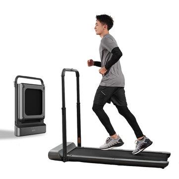 WalkingPad R1 Pro Treadmill Manual/Automatic Modes Folding Walking Pad Non-slip Smart LCD Display 10Km/H Running Fitness Equipment with EU Plug