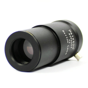 1,25 pollici 5X Barlow lente Aluminium lega completamente multi-rivestito per telescopio oculare Astronomia