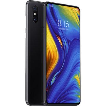 Xiaomi Mi MIX 3 pous 6.39GB RAM 8GB ROM mufliye 256 Nòt Nwayo Smartphone