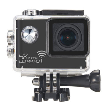 Meeegou M7 NTK96660 16MP 4K 2.0 Inch Screen 170 Degree Wide Angle WIFI HD Sport Action Camera with Microphone