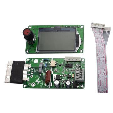 100A LCD Display Digital Double Pulse Encoder Spot Welder Welding Machine Transformer Controller Board Time Control Module