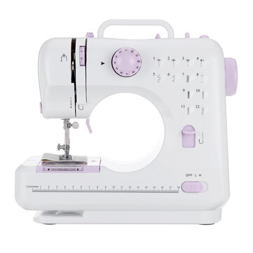 Electric Mini Sewing Machine Adjustable 2 Speed 12Stitches Household Sewing new
