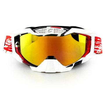 Occhiali da sci per motociclisti fuoristrada che utilizzano gli occhiali da sci Occhiali