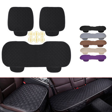 How can I buy 4 Colors Autumn Winter Universal Plush Anti Slip Car Front   Rear Seat Lattice Cushion Cover Chair Pad Seat Mat with Bitcoin