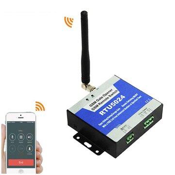 200 Người dùng Trang chủ GSM Mô-đun Bộ điều khiển truy cập điều khiển từ xa cho Cửa điện qua SMS GSM Cổng mở