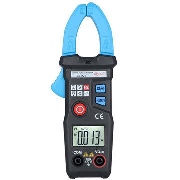 BSDIE ACM24 Smart Digital Mini 6000 Counts  NCV  Auto Range AC Clamp Meter Electronic Tester Meter