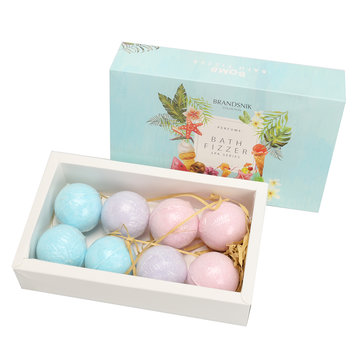 8Pcs Bath Bombs Moisture Body Scrub Skin Care Holiday Christmas Presents Gifts